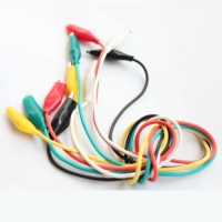 Pack 5 Cable con cocodrilo