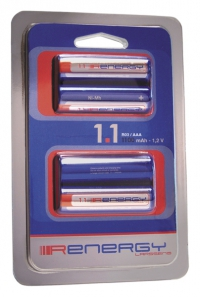 Bateria recargable AAA